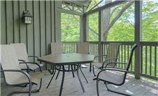 Blueberry Ridge Mountain Homes - Back Porch Area