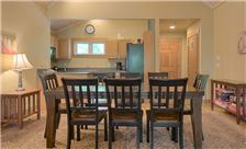 Blueberry Ridge Mountain Homes - Dining and Kitchen Areas