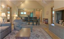 Blueberry Ridge Mountain Homes - Living Room Area