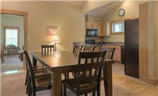 Blueberry Ridge Mountain Homes - Dining and Kitchen Area