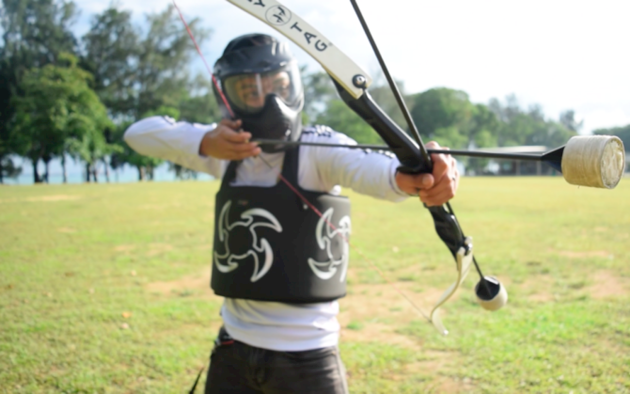 Archery Tag in Pembroke Virginia Lodge