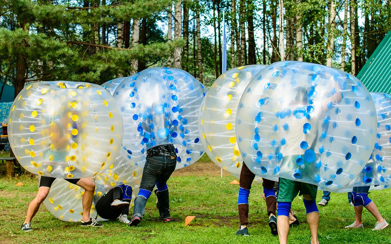 Bubble Ball in Pembroke Virginia Lodge