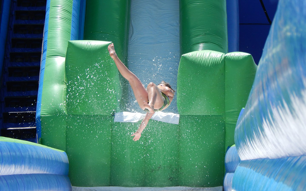 Water Slide in Pembroke Virginia Lodge