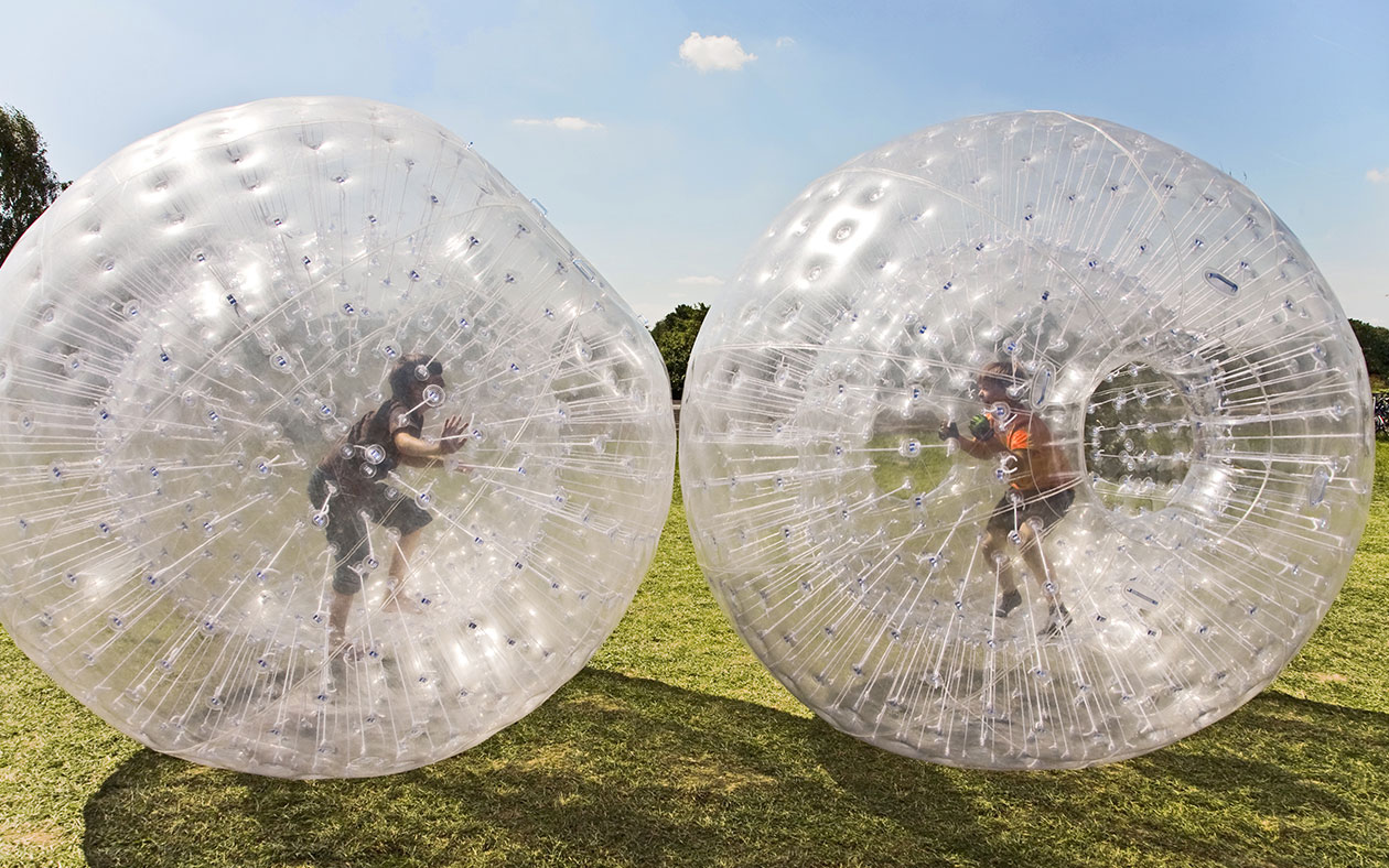 Zorb Racing in Pembroke Virginia Lodge