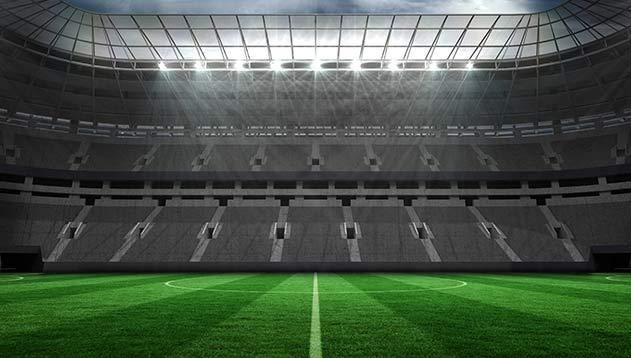 Lane Stadium in Pembroke, Virginia Lodge