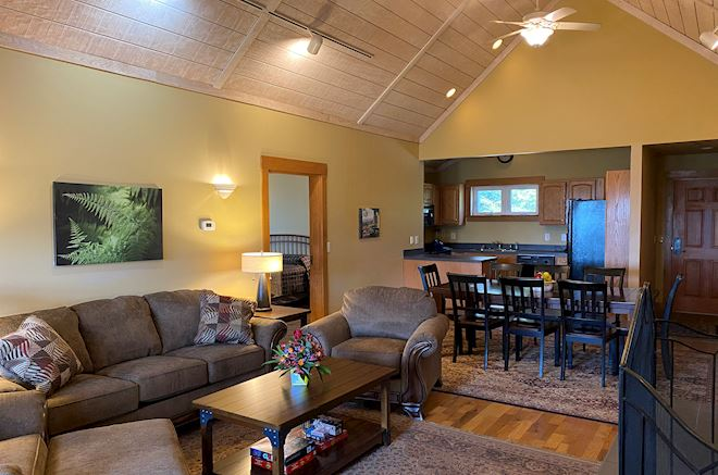 Four Bedroom Cabins in Mountain Lake Lodge, Virginia