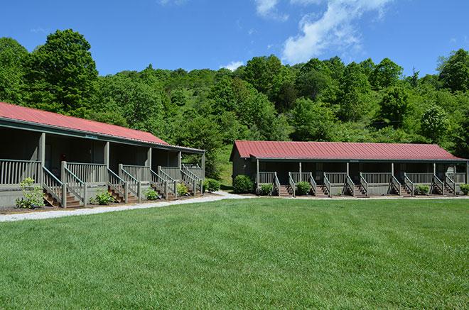 Richmond & Thompson Multi-unit Rustic Cabins in Mountain Lake Lodge, Virginia