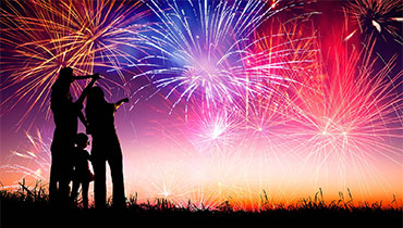 July Fireworks Celebration Package