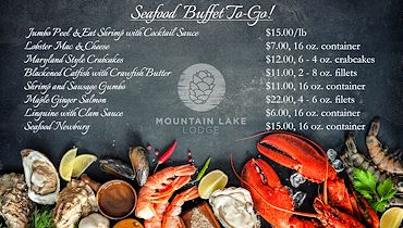 Seafood Buffet To-Go