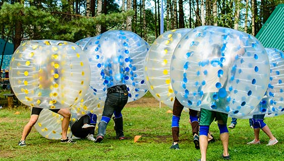 Bubble Ball in Pembroke, Virginia Lodge