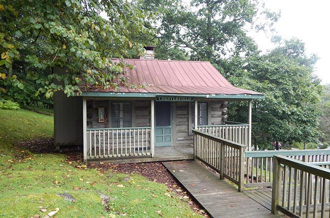 Chesterfield Rustic Cabin of Mountain Lake Lodge, Virginia