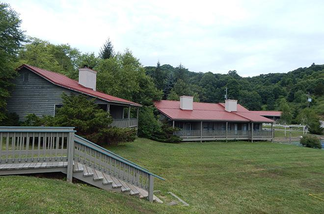Norfolk and Dorland Multi Unit Cottages at Mountain Lake Lodge, Virginia