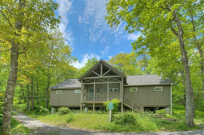 Blueberry Ridge Mountain Homes in Mountain Lake Lodge