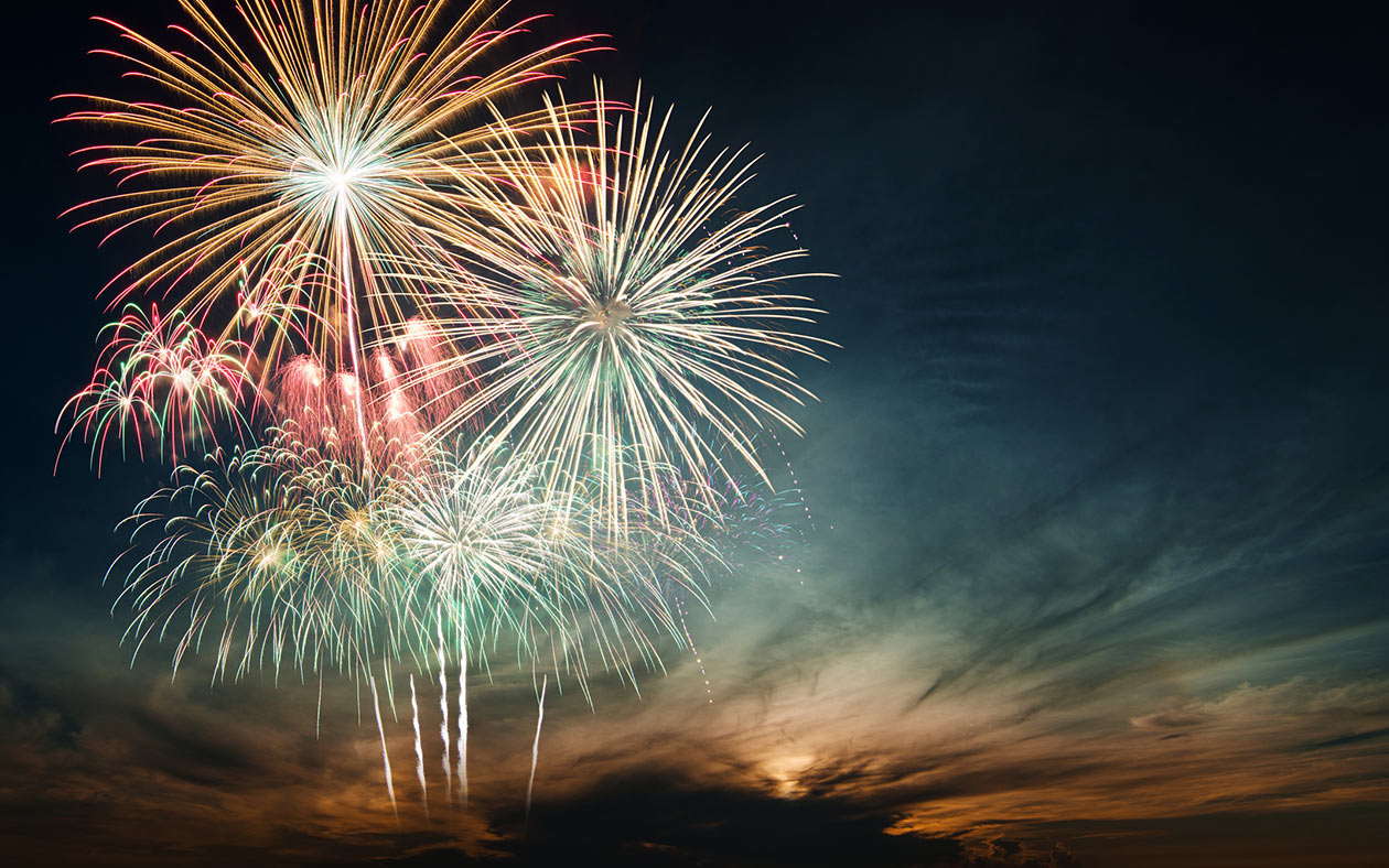 Fourth of July Fireworks Celebration at Pembroke Virginia Lodge