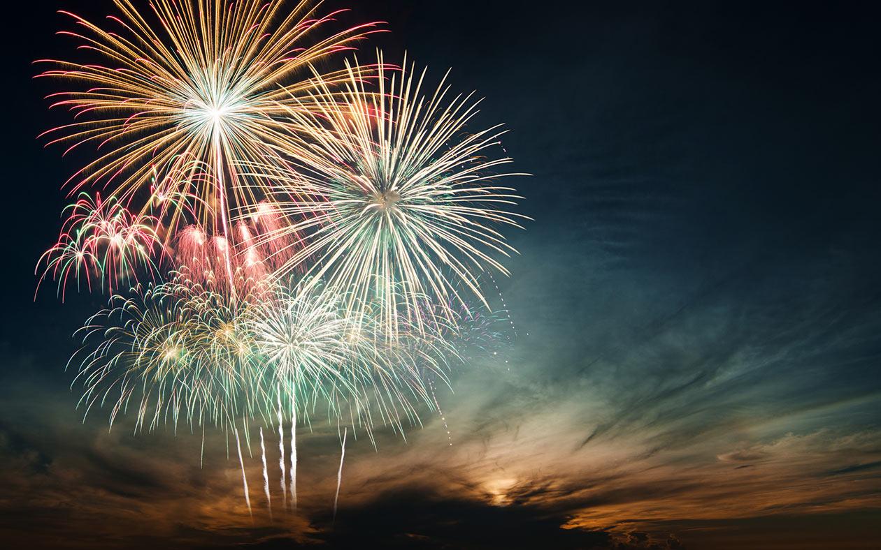 Fourth of July Fireworks Celebration at Pembroke Virginia Lodge